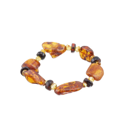 Honey Amber Strech Bracelet