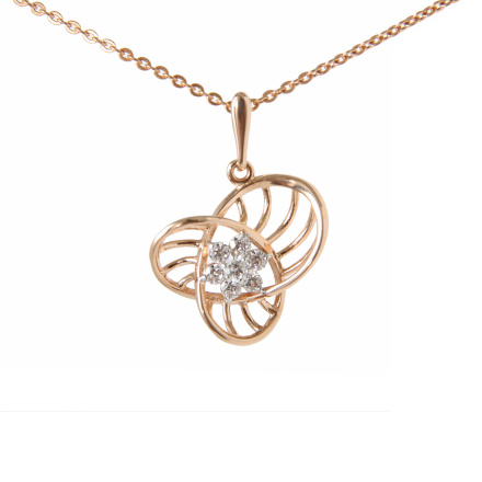 Rose gold pendant in Brooklyn
