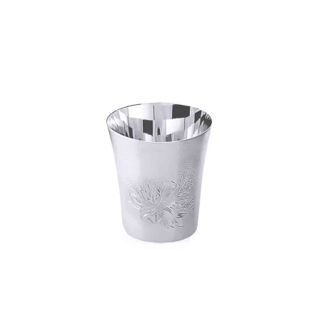 Silver Shot Glass. Hypoallergenic Antibacterial 925 Silver