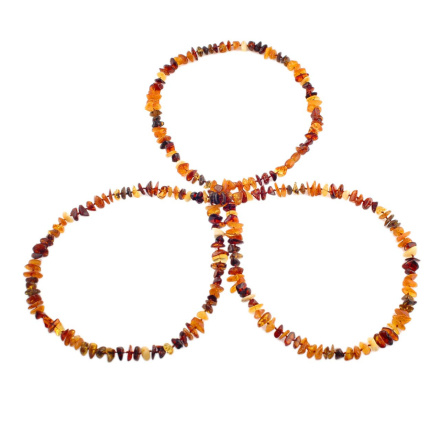 Raw Amber Endless Beads