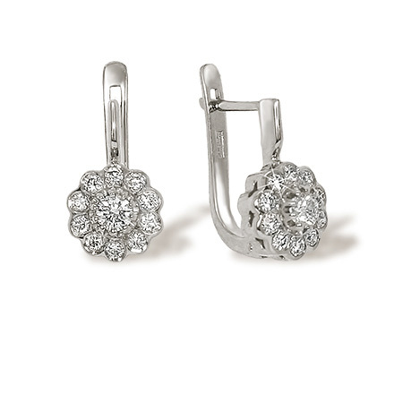 Malinka diamond earrings