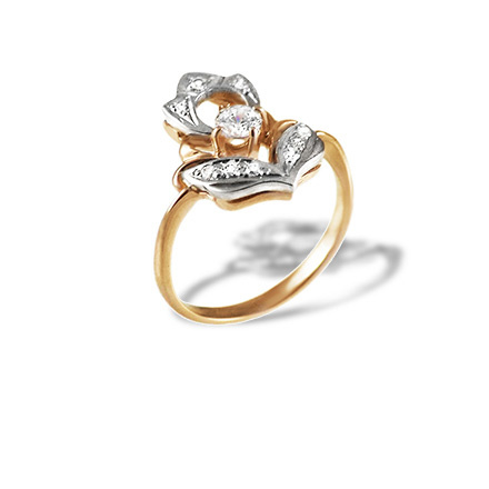 Antique-inspired Diamond Ring