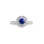 Sapphire Gold Ring. View 2