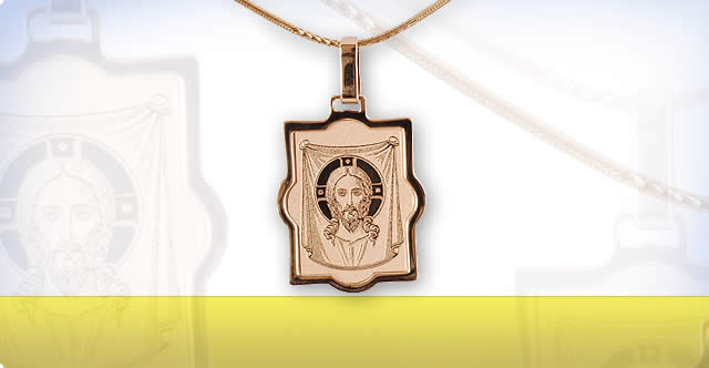 Orthodox Icon Necklaces Made in Russia