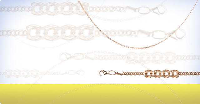 Rose gold chains & 925 silver chains solid & hollow chains