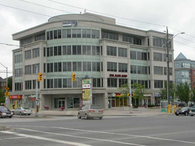 Commercial Real Estate in Canada. Golden Flamingo's headquarters