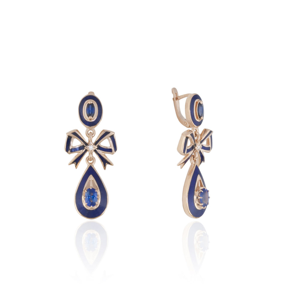 Royal Couture Bow Earrings