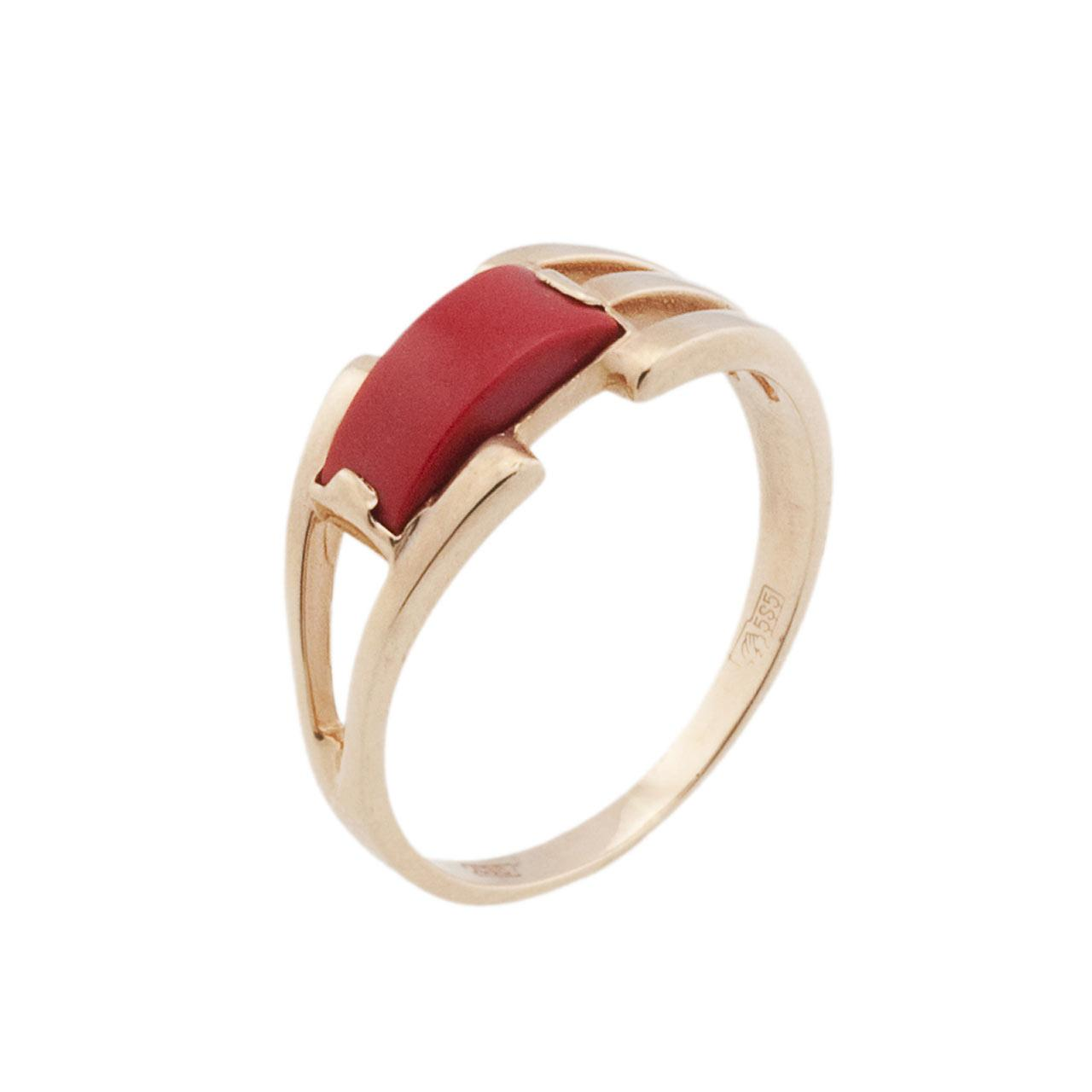 Coral ring on sale 1