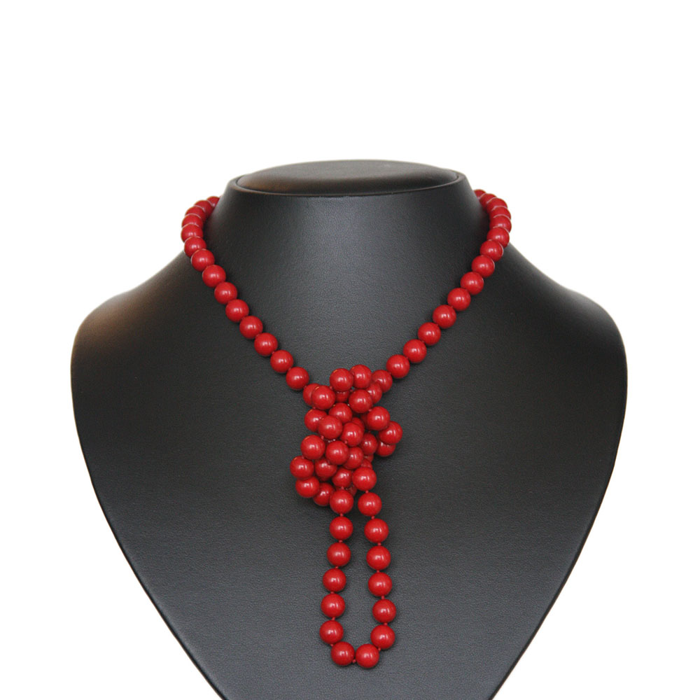 Coral endless necklace 2