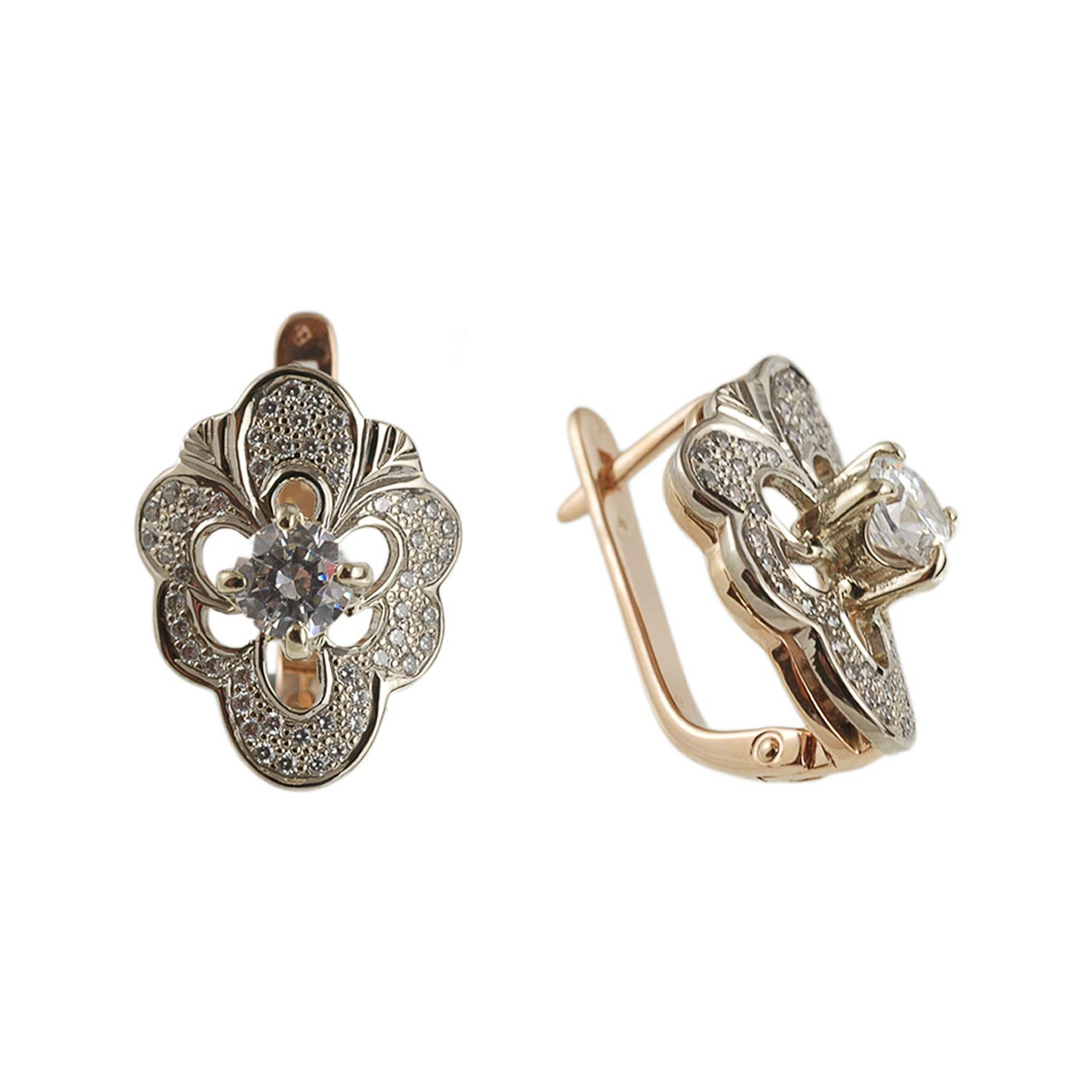 CZ Vintage Style Earrings