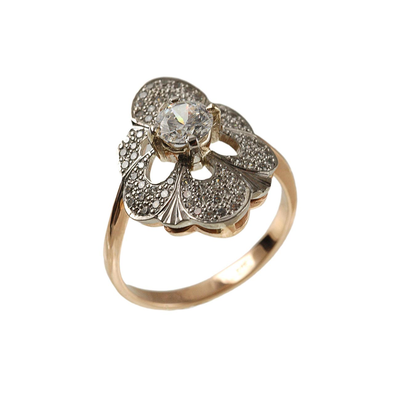 Russian gold vintage ring 1