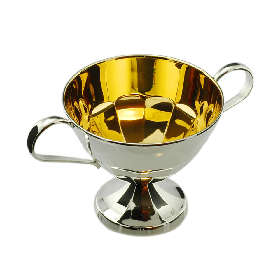Silver Sugar Bowl-European silverware 1