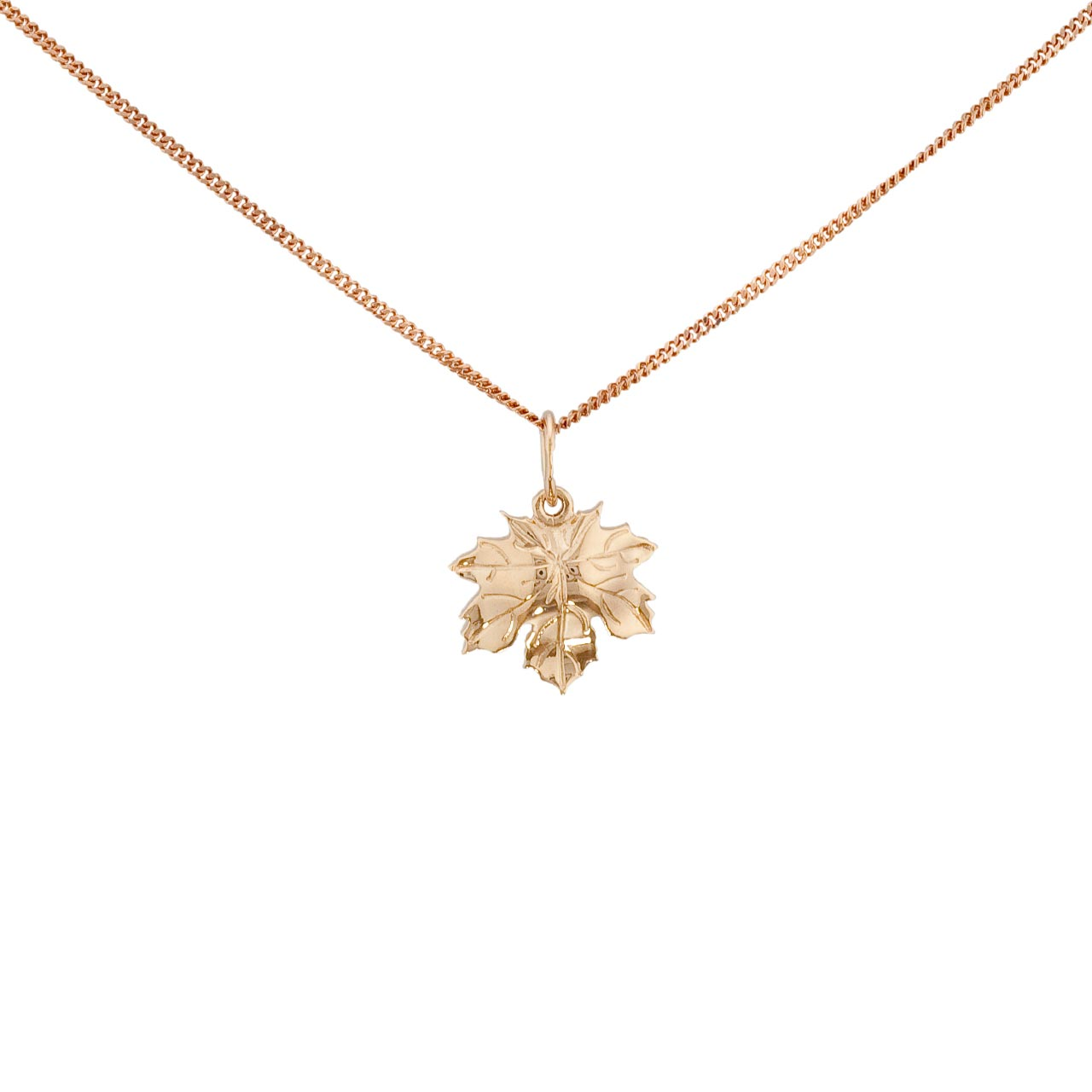 lugaro forevermark leaf canada pendant jewellery diamond maple