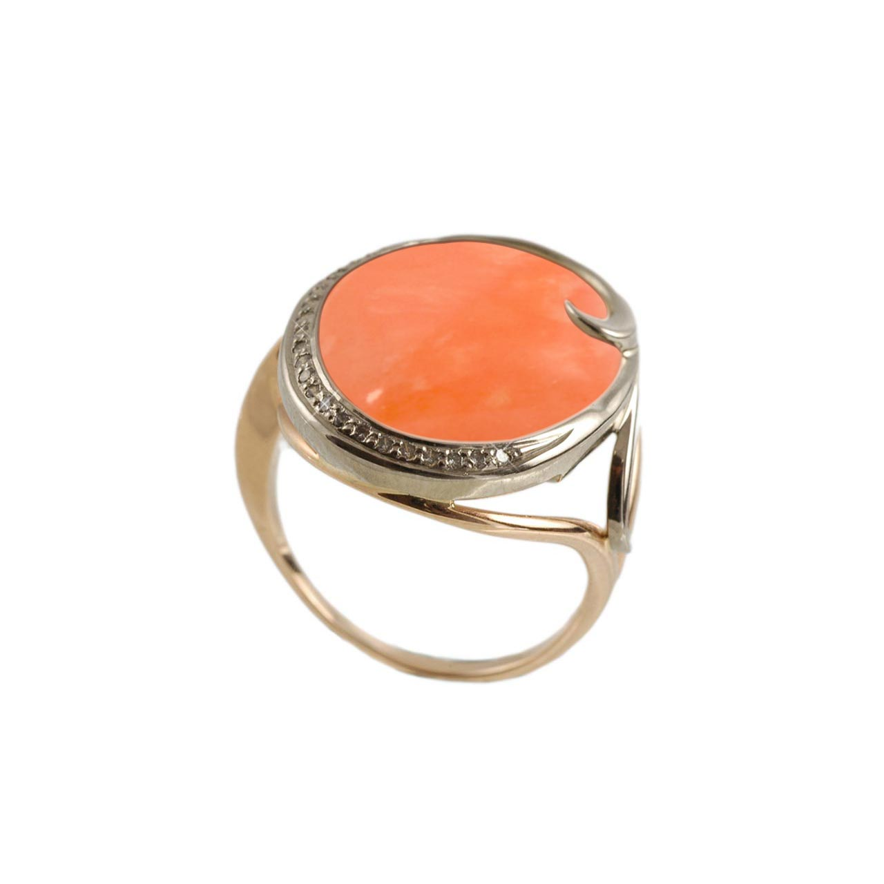 Pink Coral Cocktail Ring
