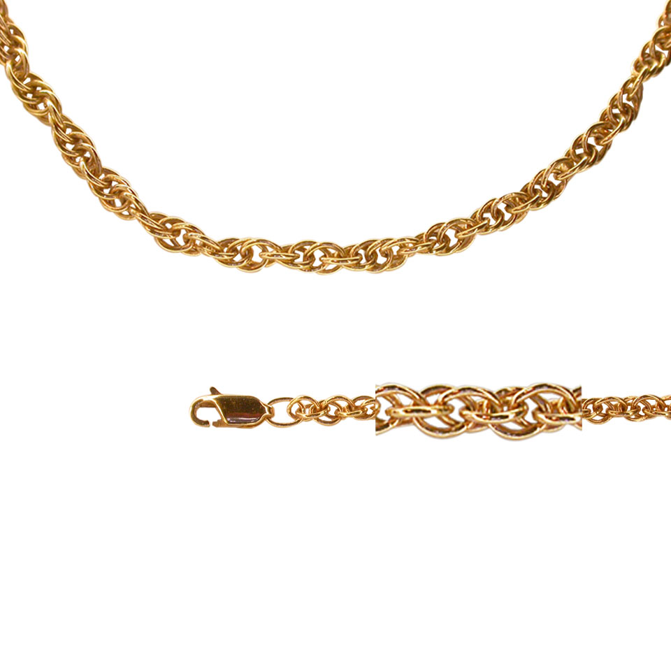 Rose gold chains at decent price 1