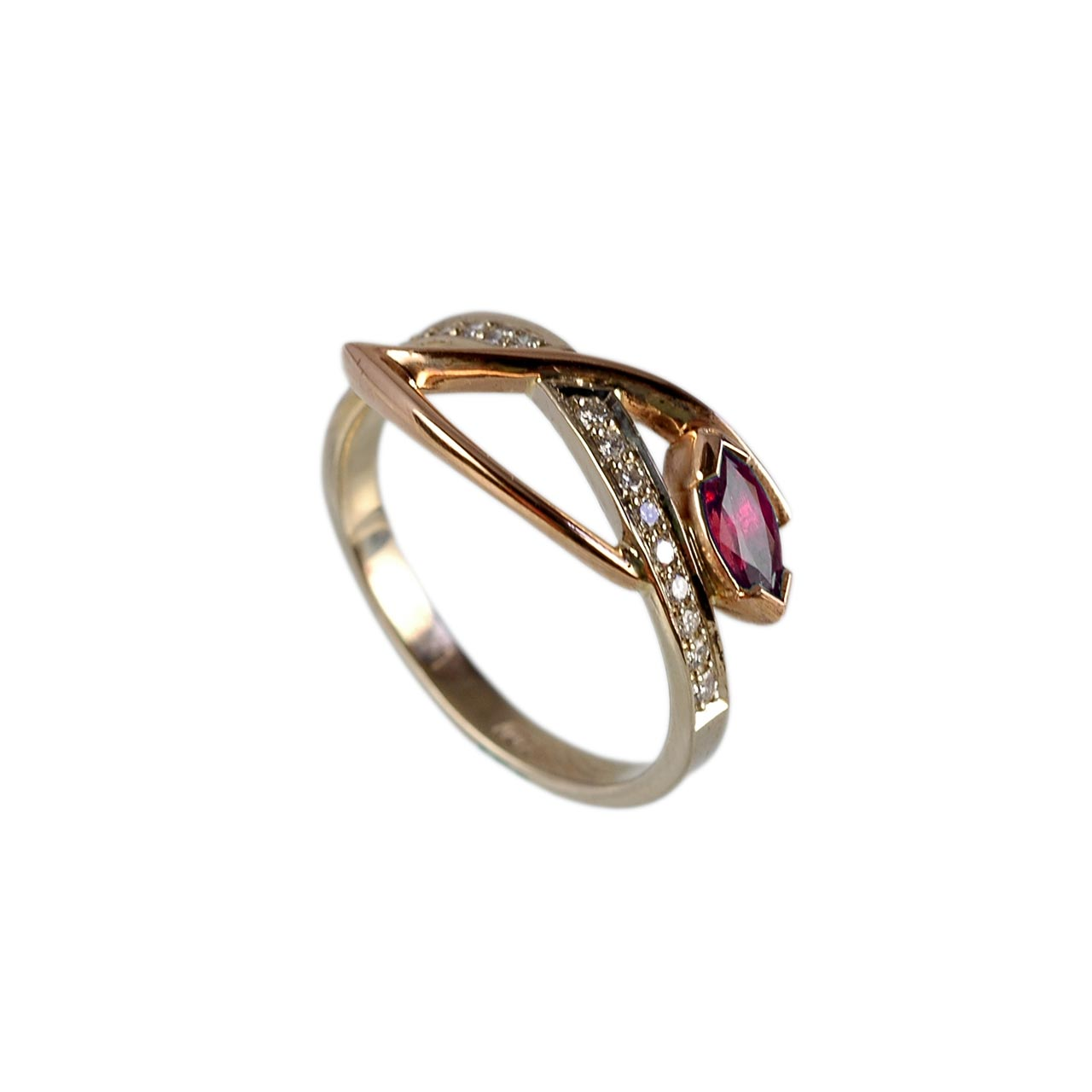 Burma ruby gold ring 2