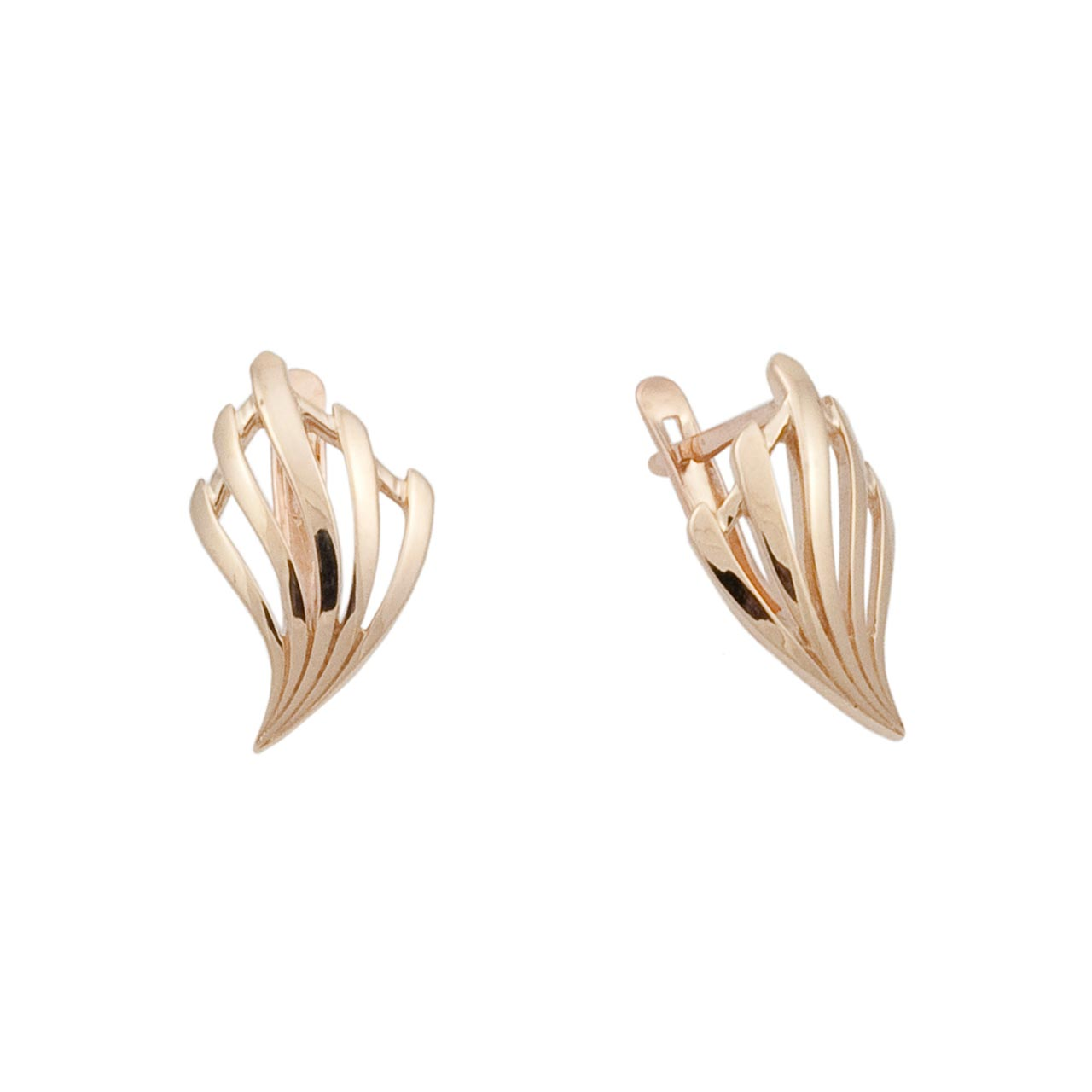 Torch look earrings