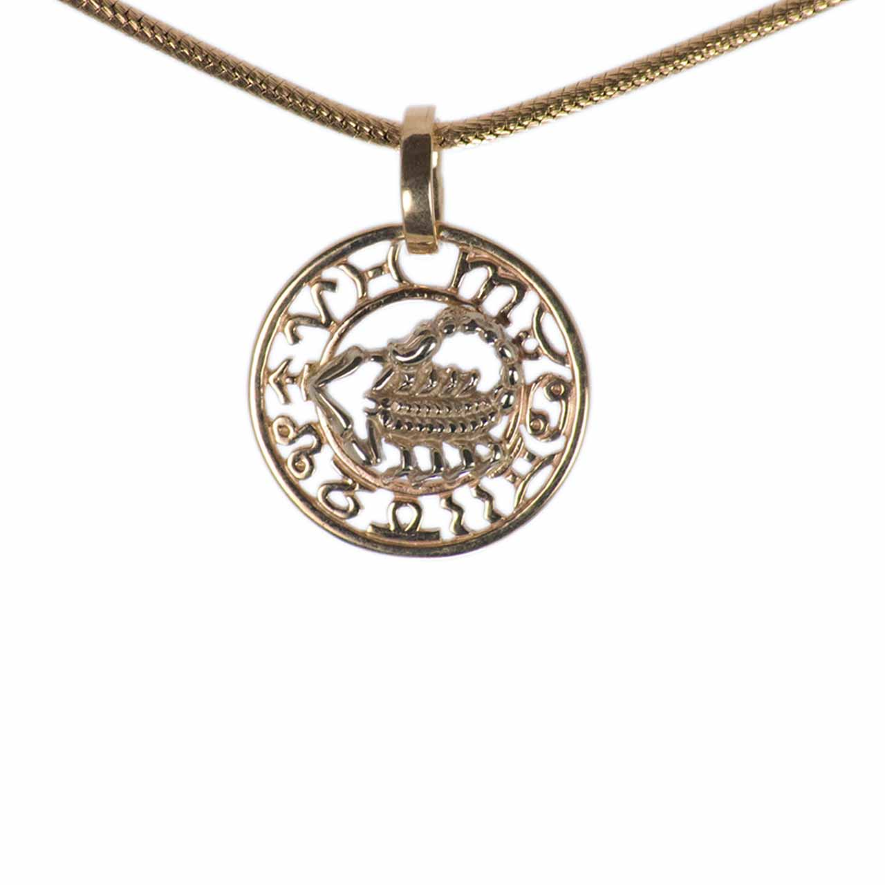 Scorpio Zodiac Filigree Astral Decor Pendant