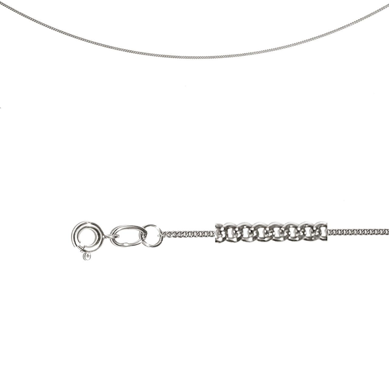 Single Curb Chain (0.3mm Silver Solid Wires)