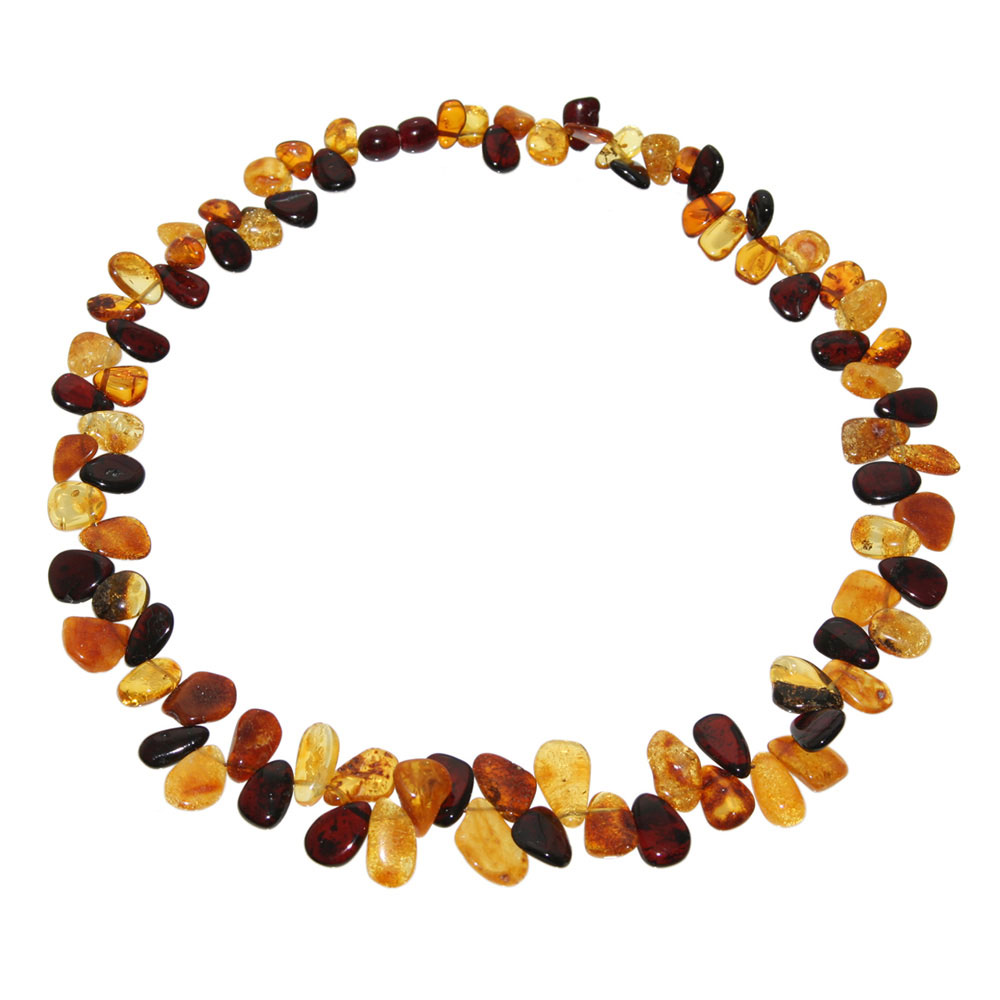 Ombre-style Amber Necklace