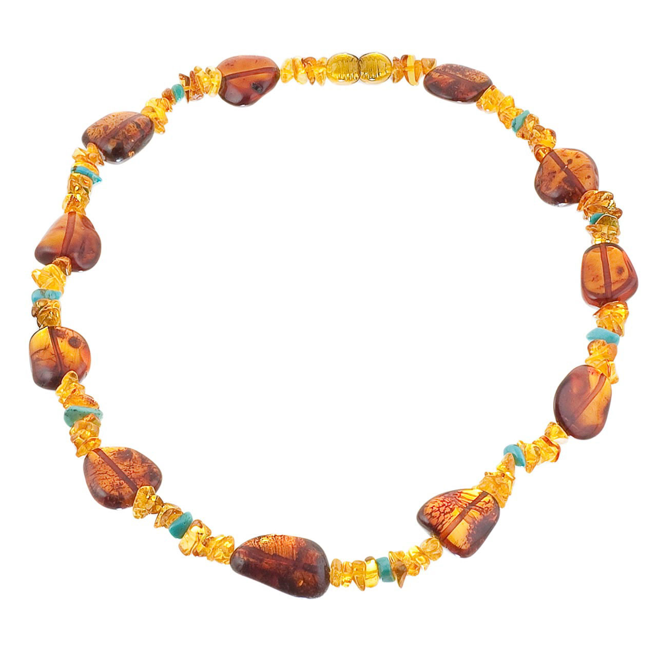 Contemporary Amber Necklace