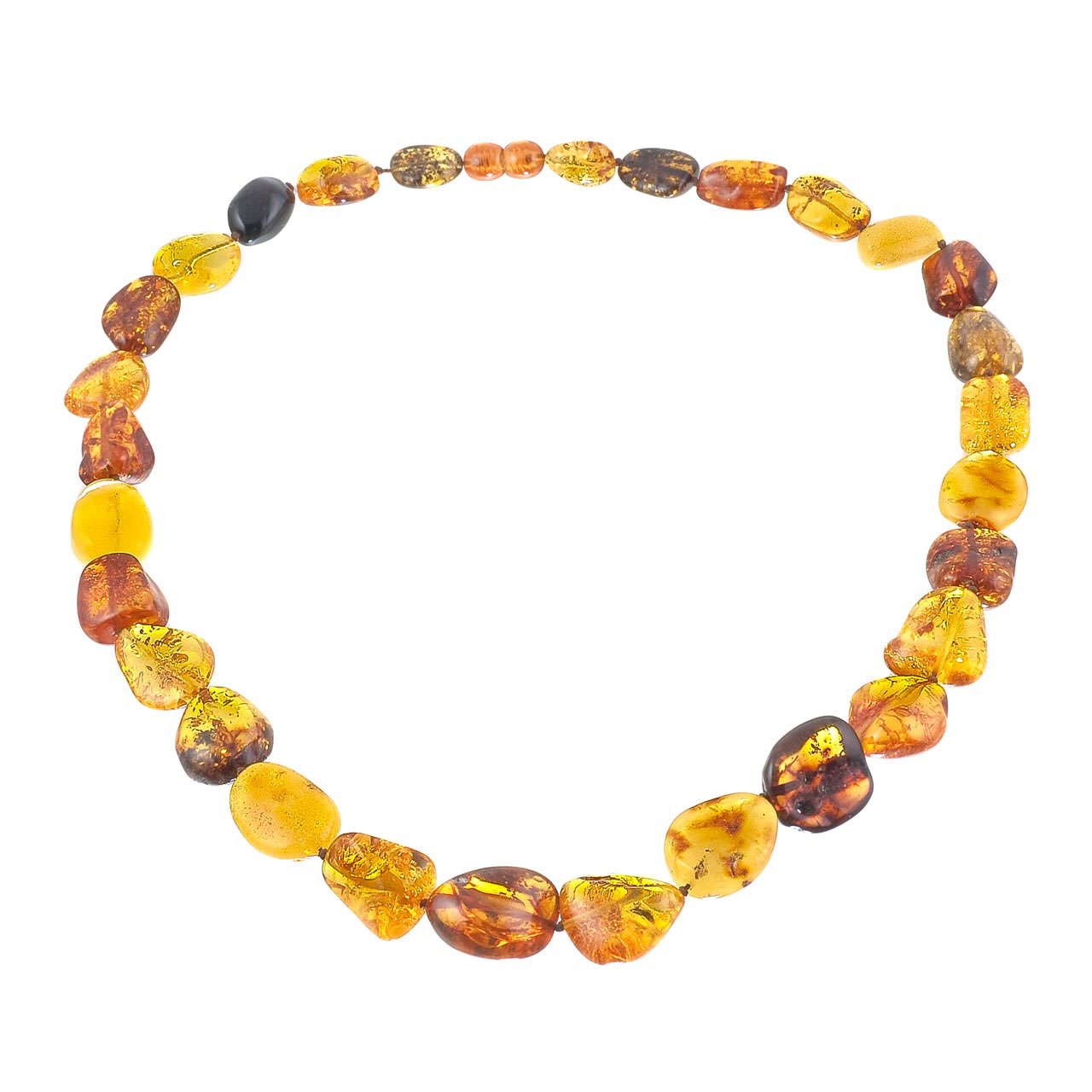 Amber Classic Beads
