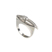 Urban-Style Diamond Ring