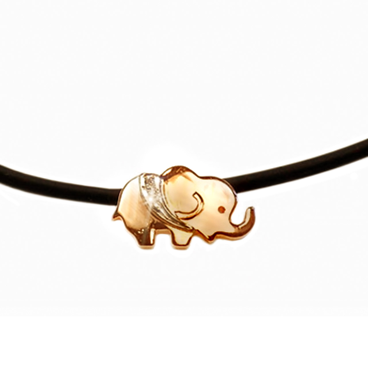 Golden Elephant Choker