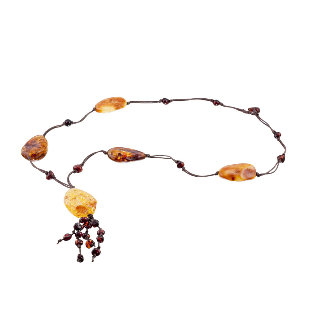 Amber healing necklaces 1