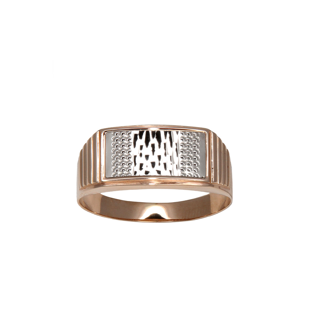 Rose gold men signet 2