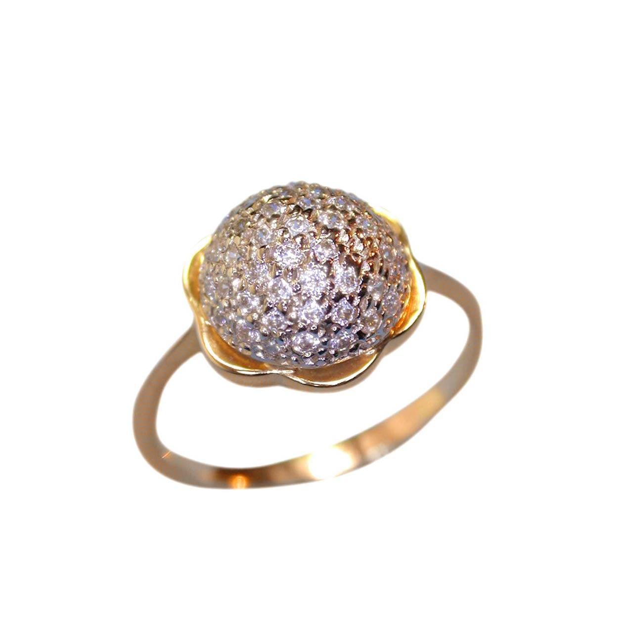 Pave CZ ring 1