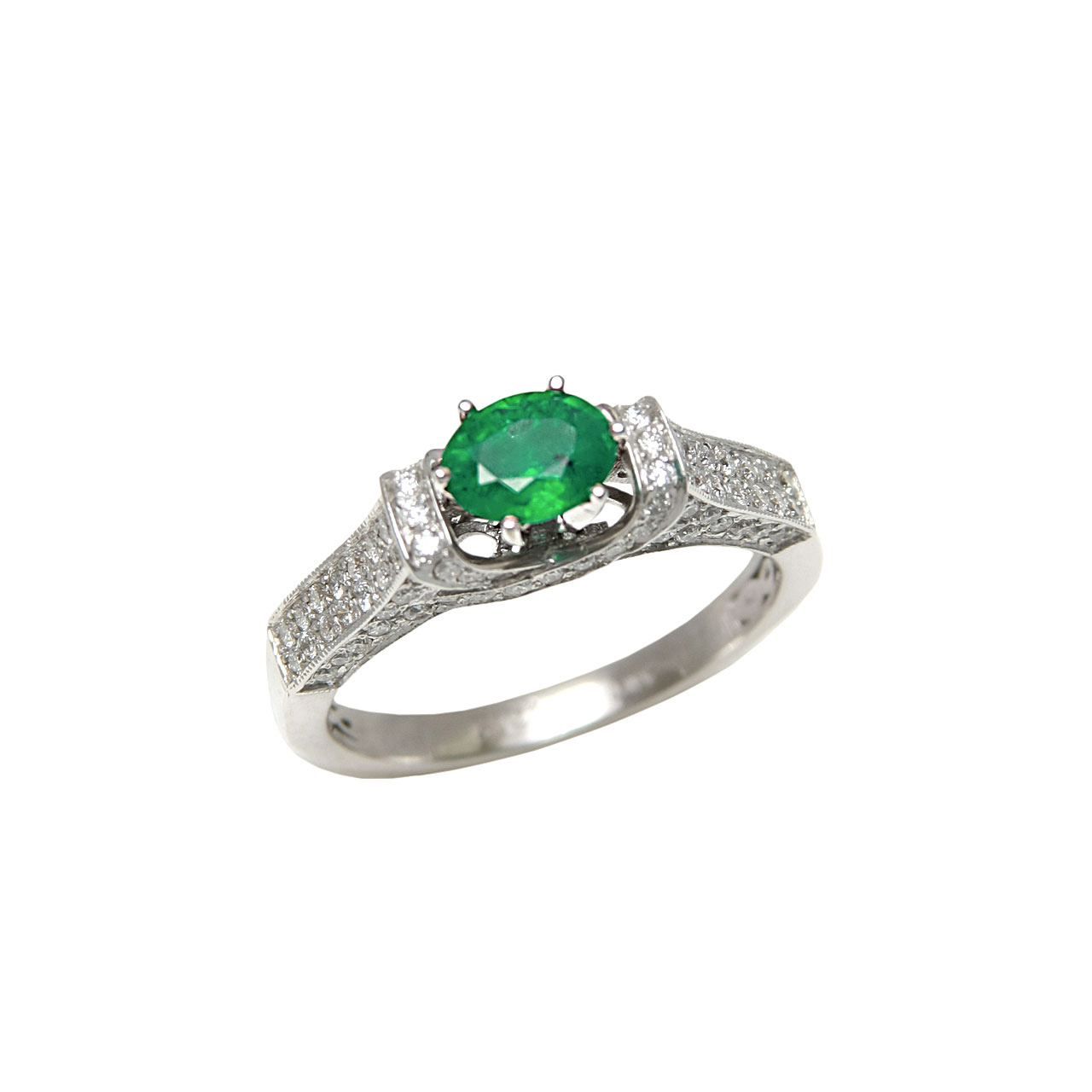 closeout jewelry russian emerald ring on sale