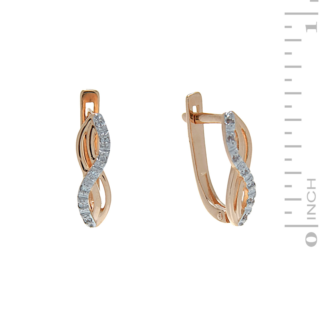 Infinity earrings 1