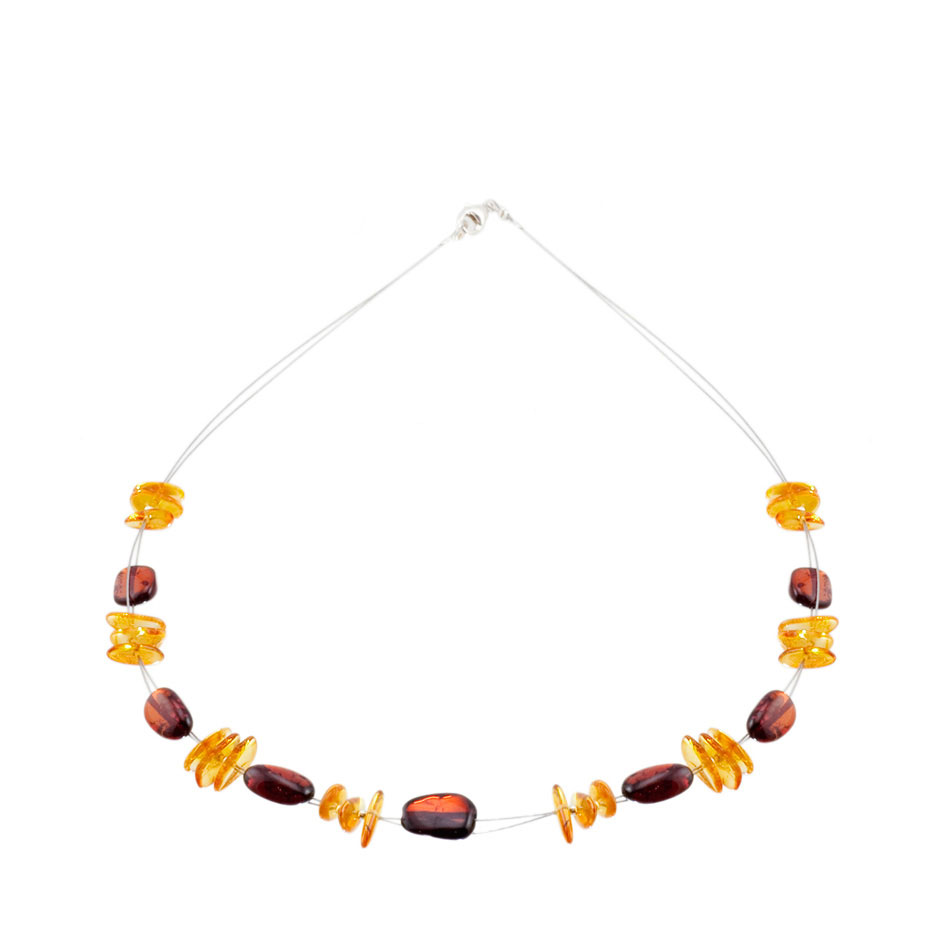 Amber necklace 1