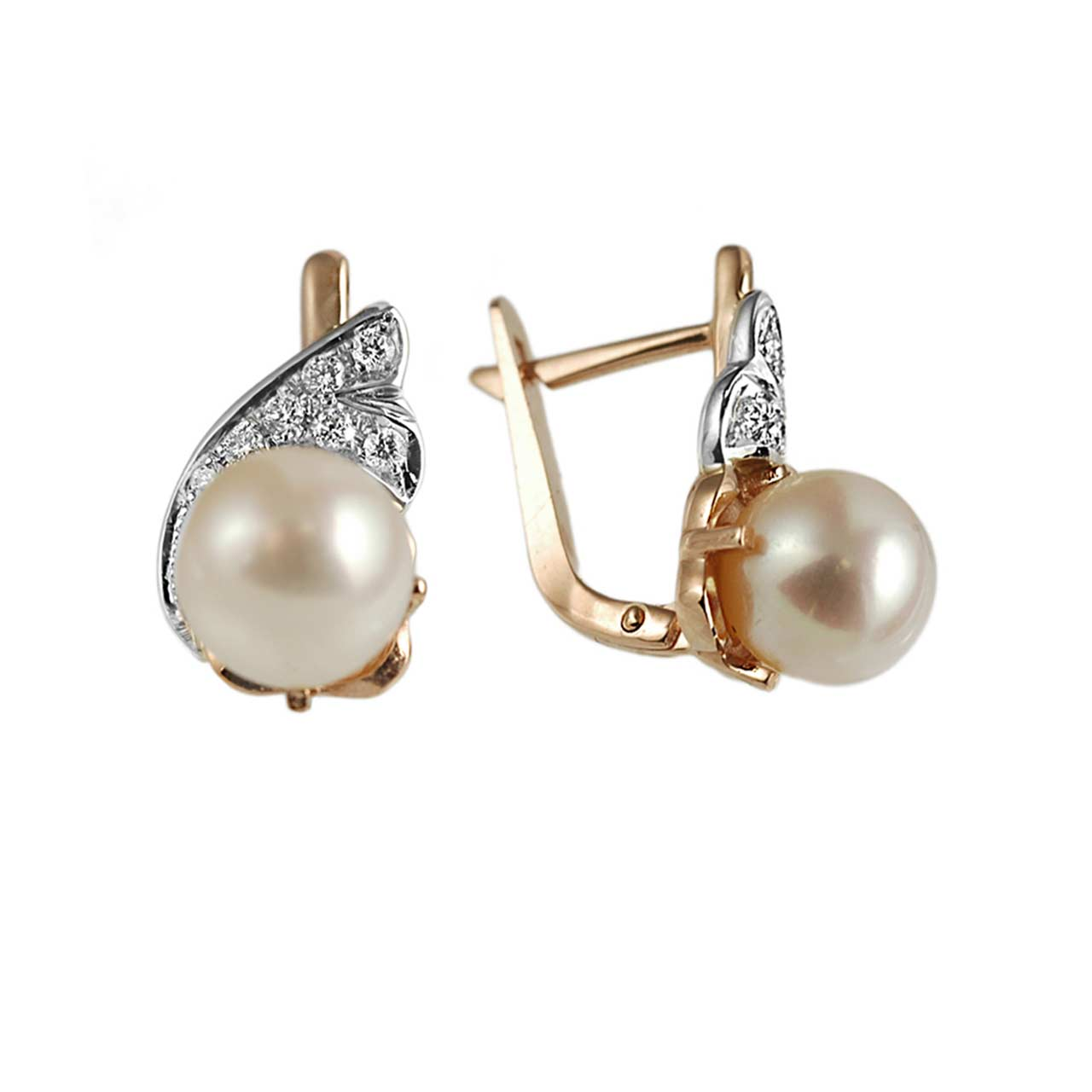 Antique pearl earrings 1