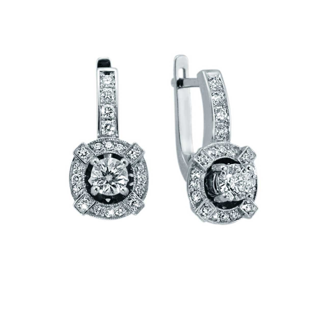 Certified Diamond Earrings