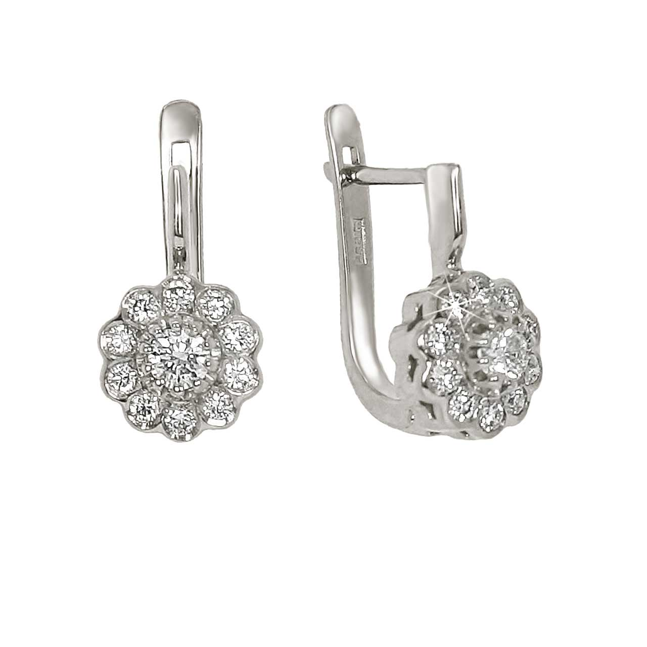 Malinka diamond earrings 1