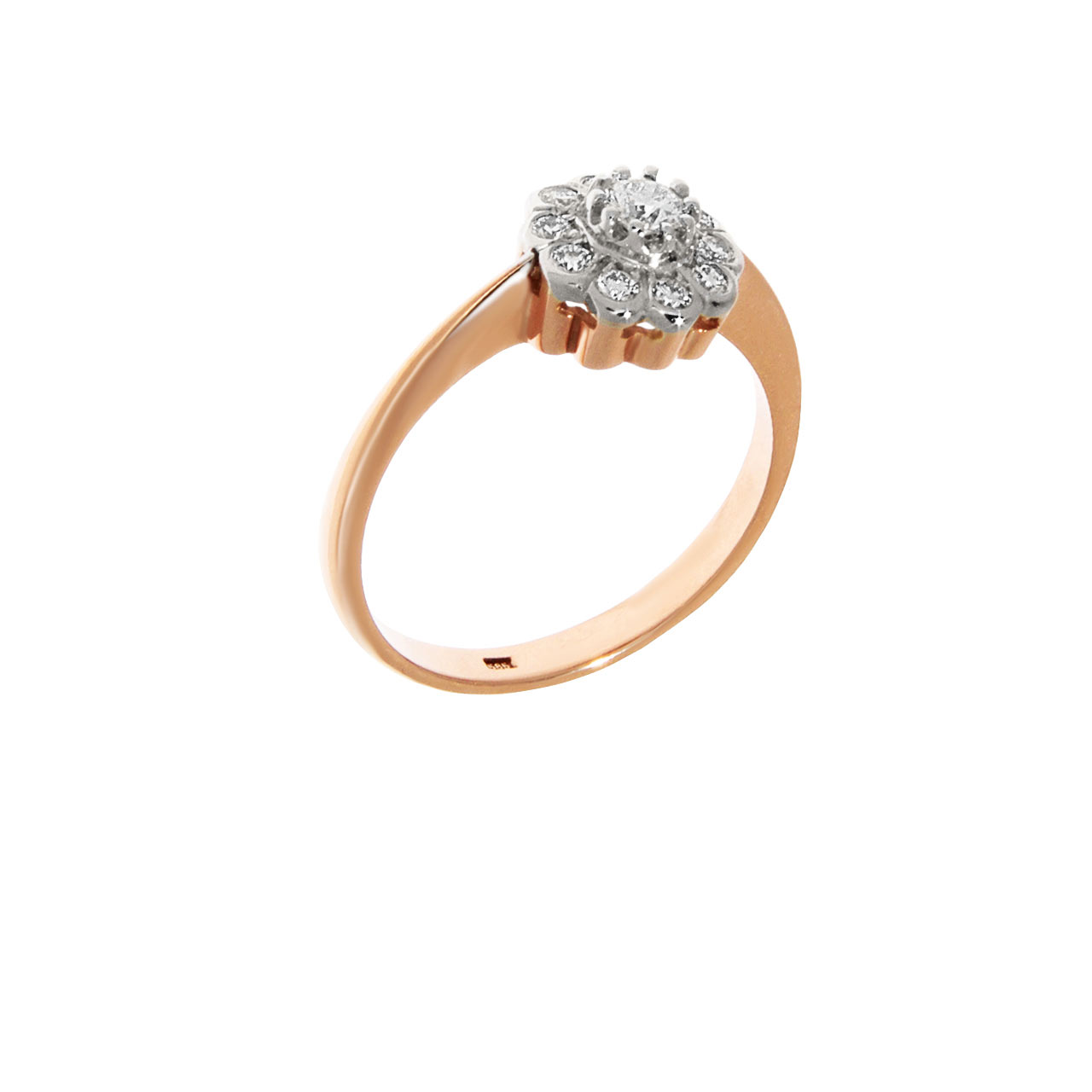 Carat Look Diamond Ring