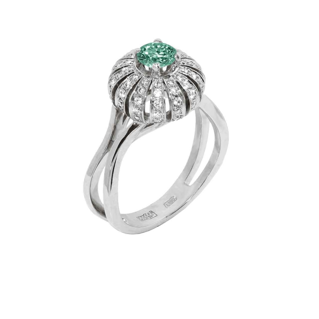 Certified emerald ring 1