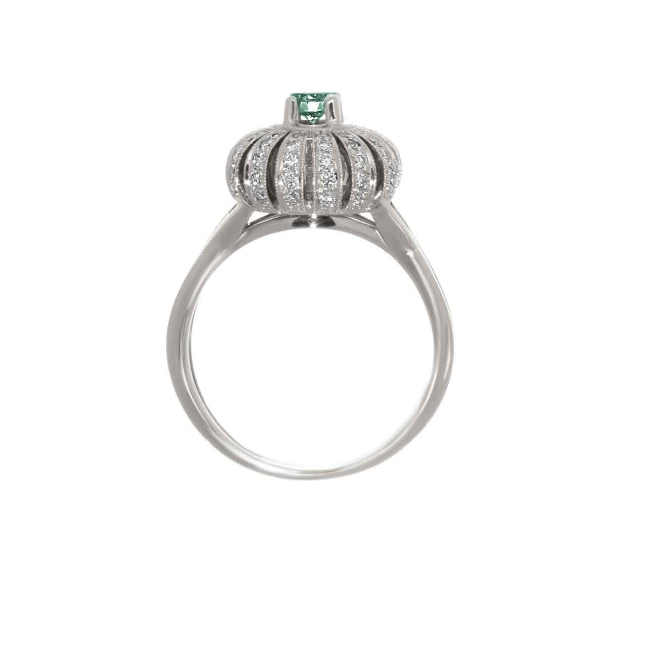 Certified emerald ring 2