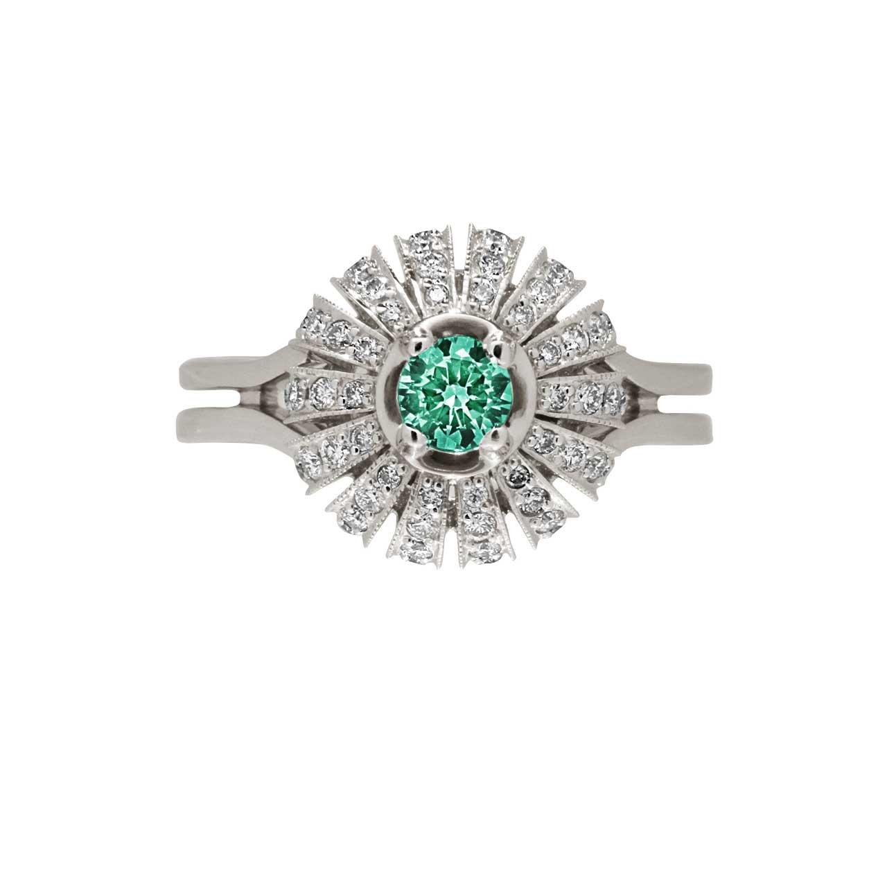 Certified emerald ring 3