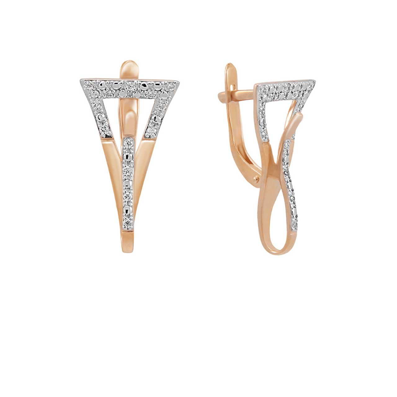 CZ High Fashion Earrings