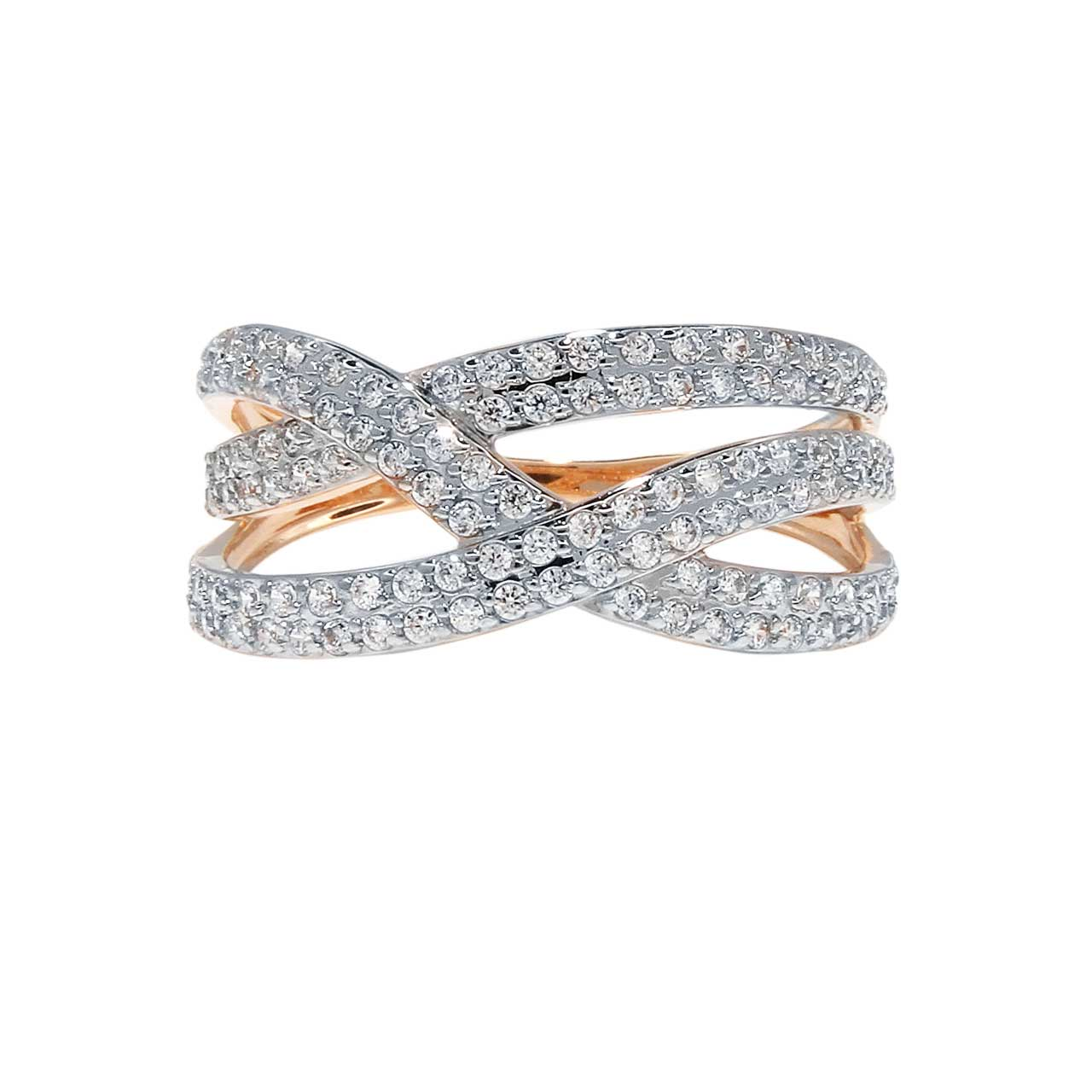 Interwoven CZ Ring 2