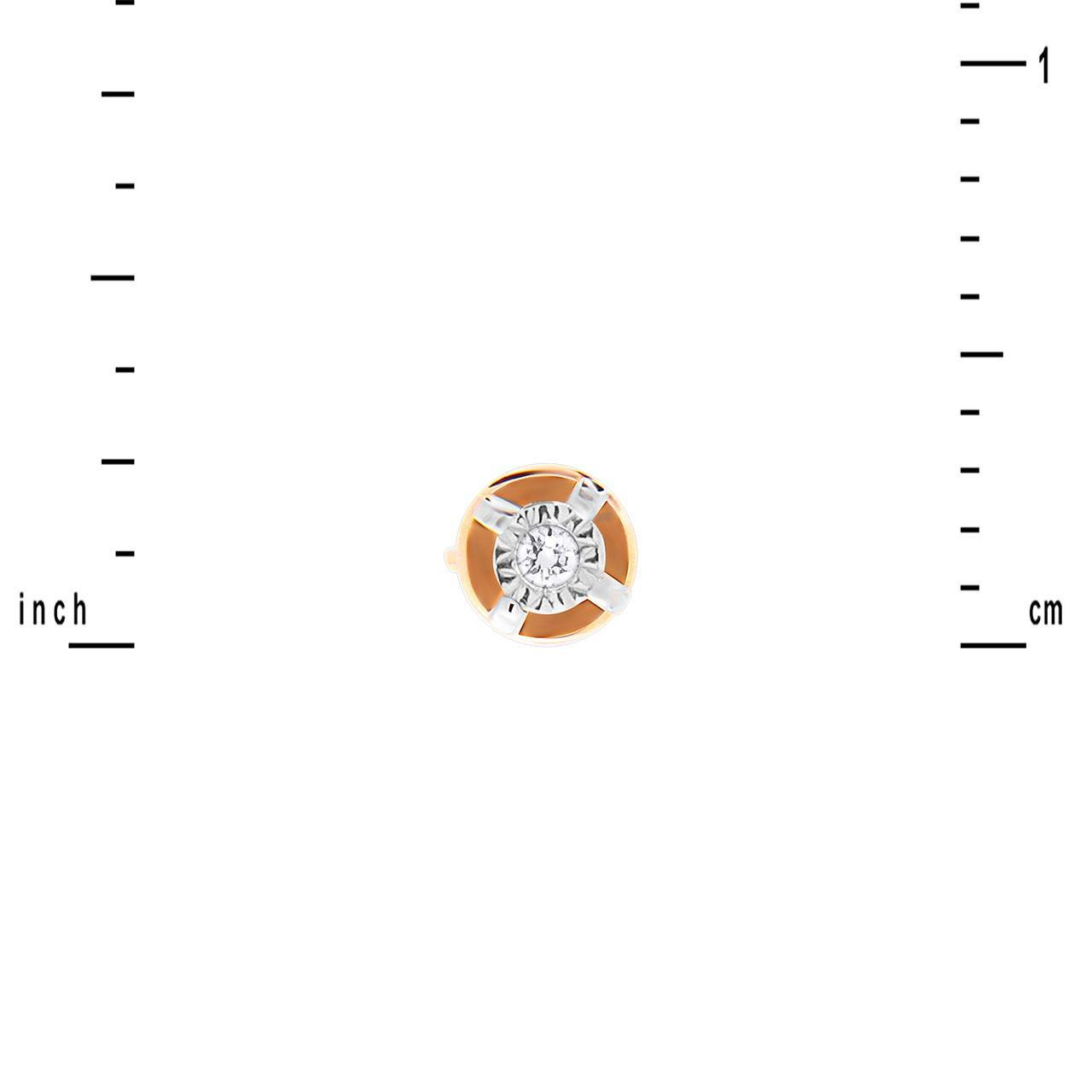 Tiny diamond stud earrings 2