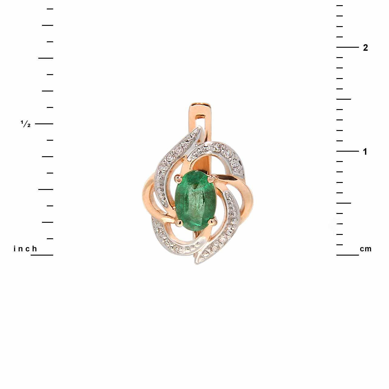 Affordable emerald earrings 3