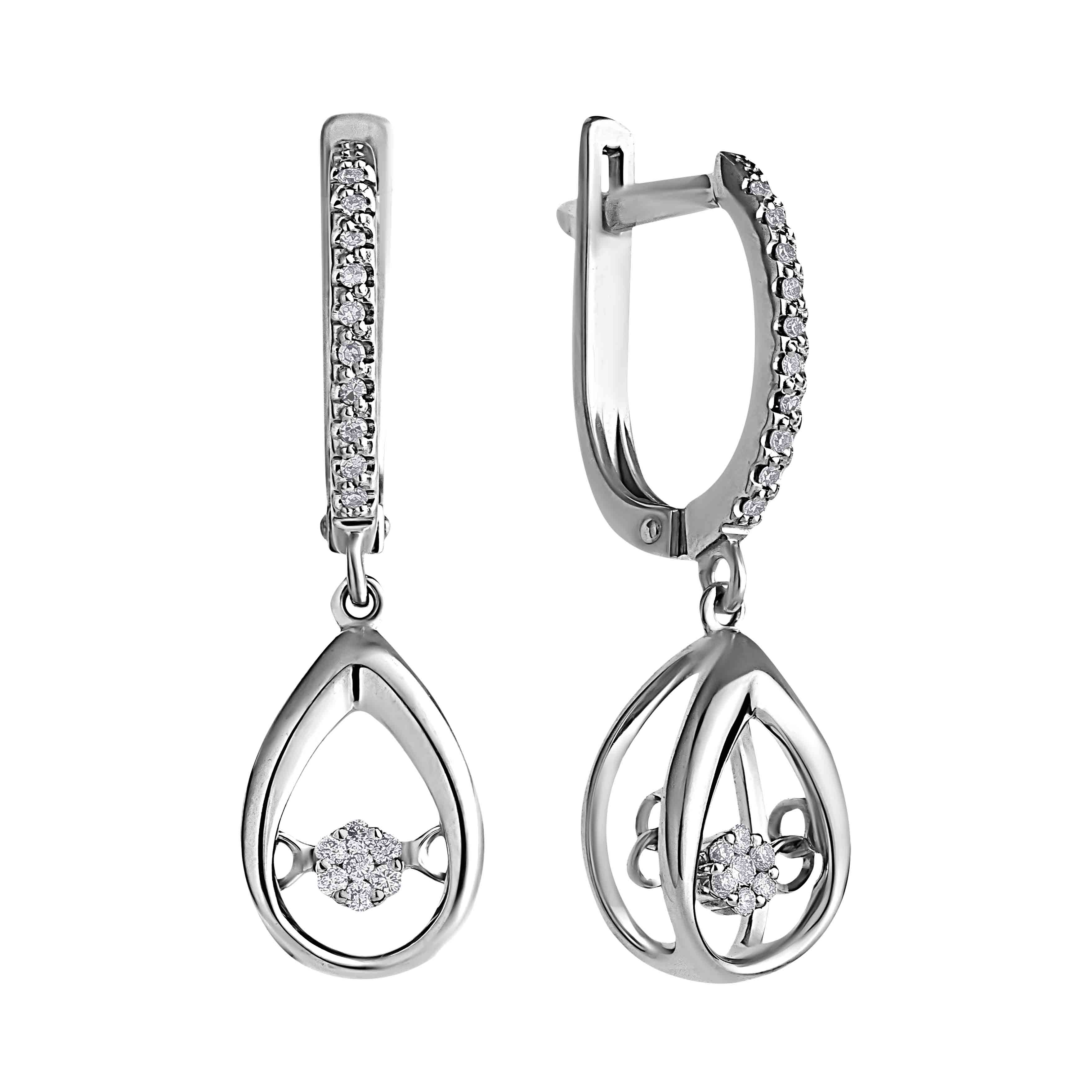 """Fluttering Diamonds"" Earrings"
