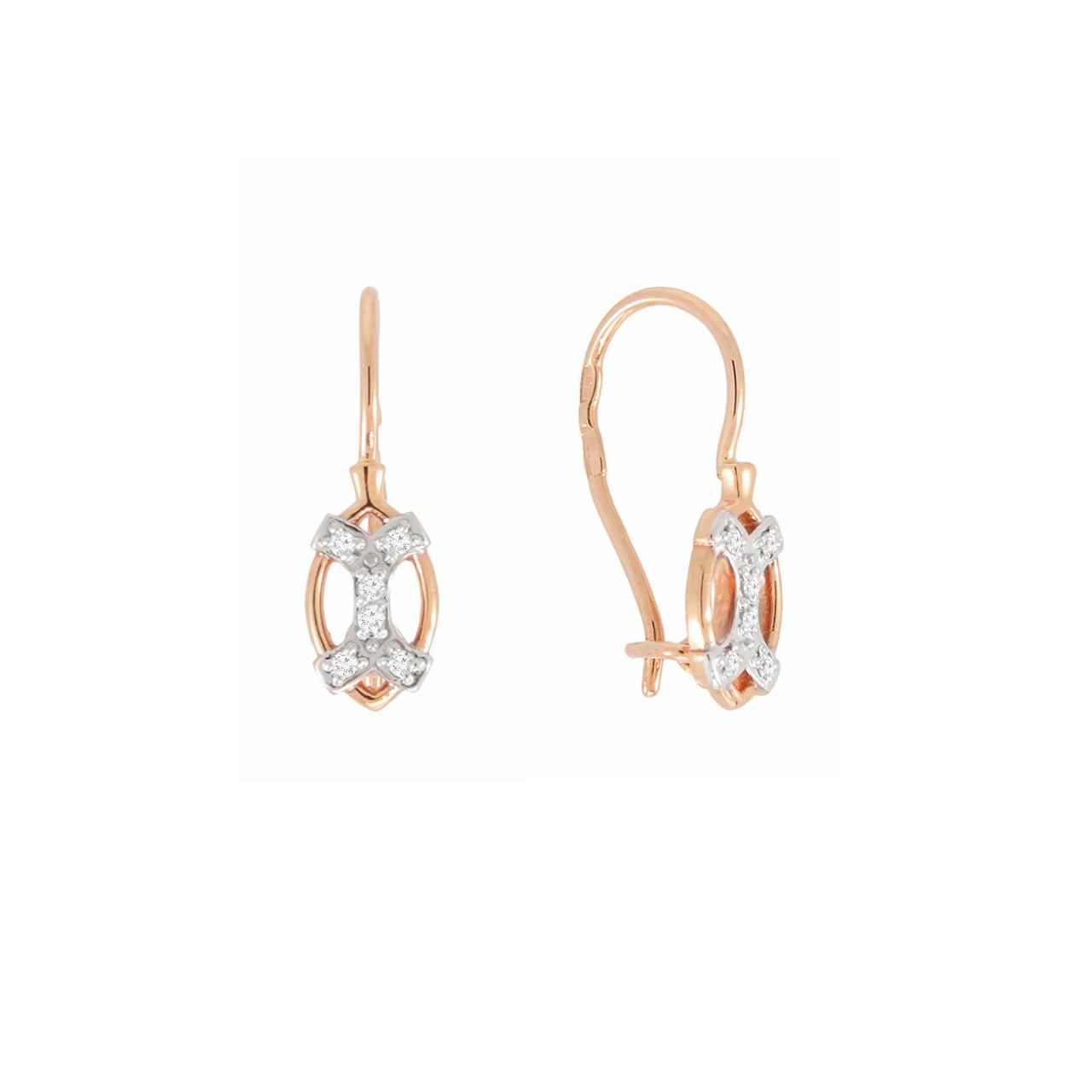 Children\'s Earrings. | Gold kids earrings | Golden Flamingo