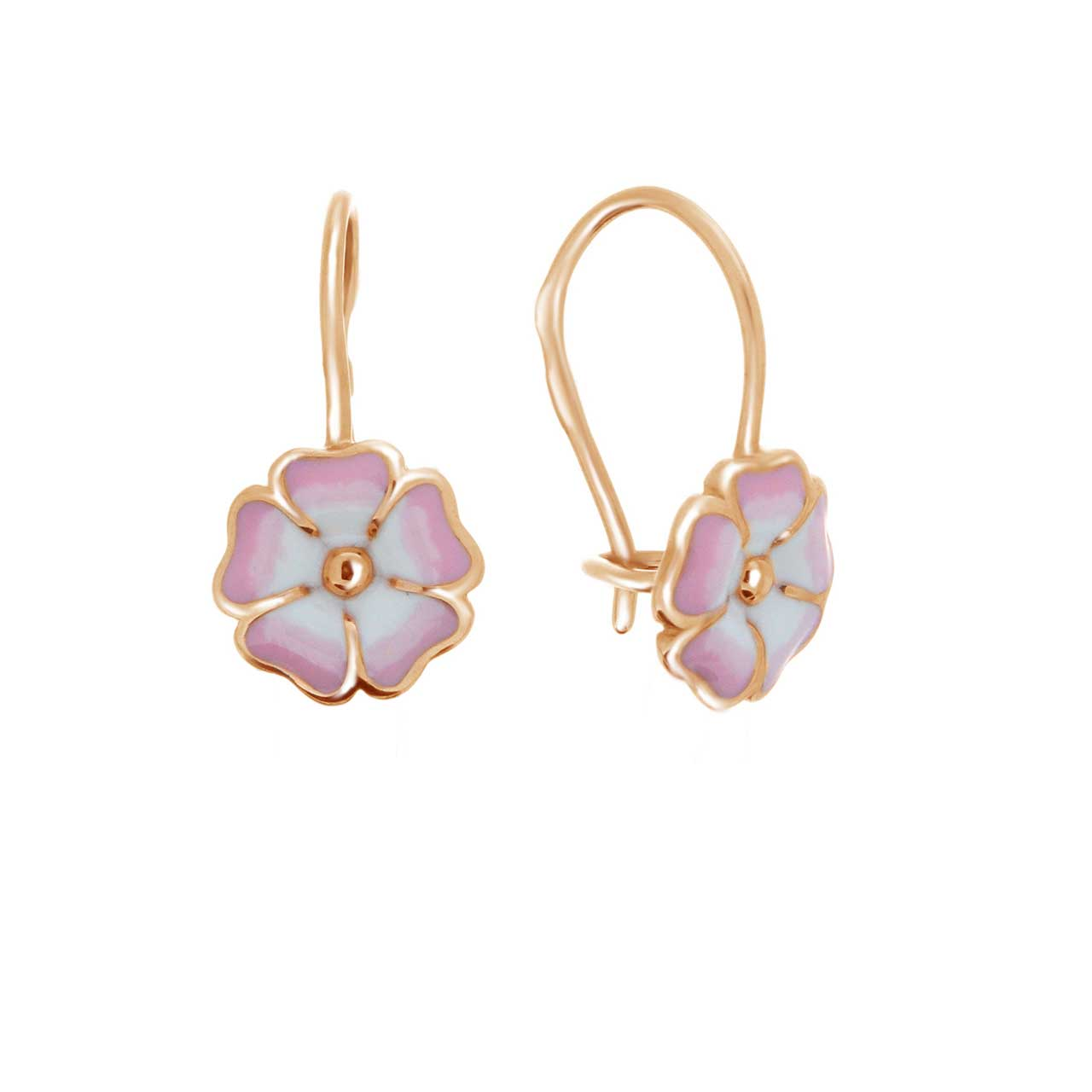 Flower kid's earrings 1
