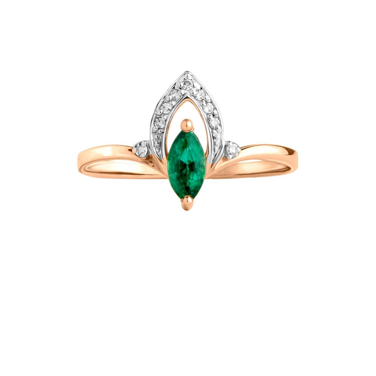 Marquise emerald ring 2