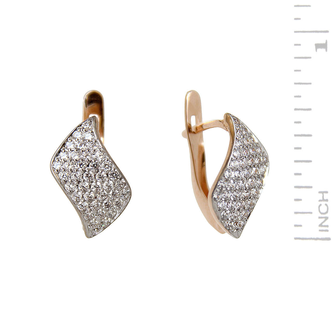 Micro-pavé CZ Earrings